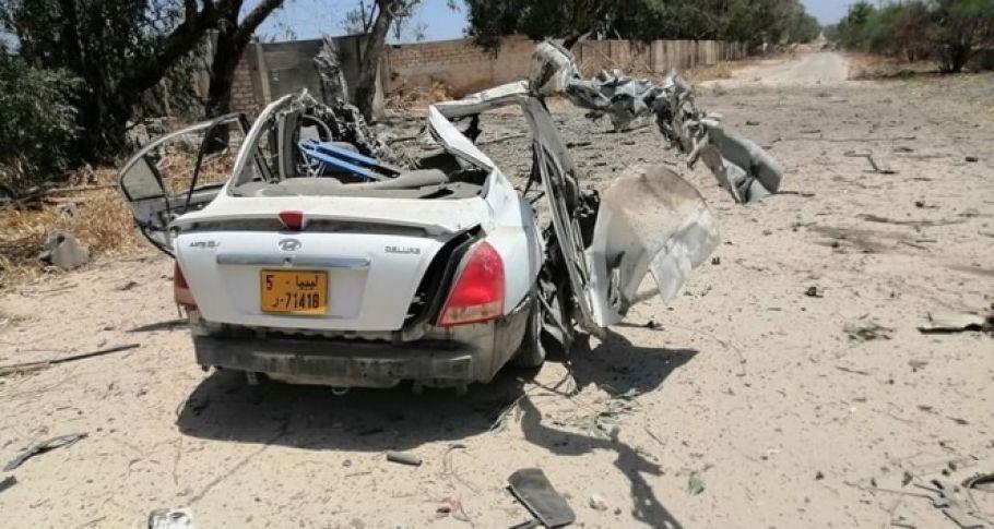 Hafter milislerin bıraktığı mayın patladı: 2 ölü, 4 yaralı