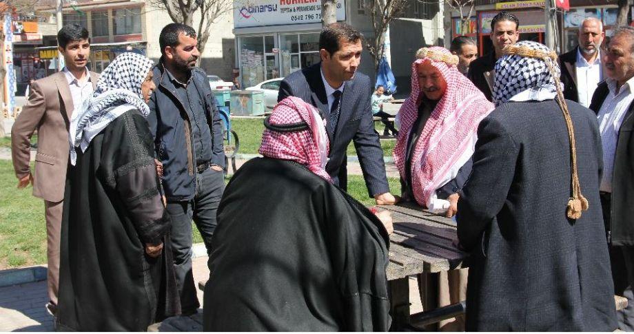 Halil Yiğit, esnaf ve vatandaşları ziyaret etti(videolu)