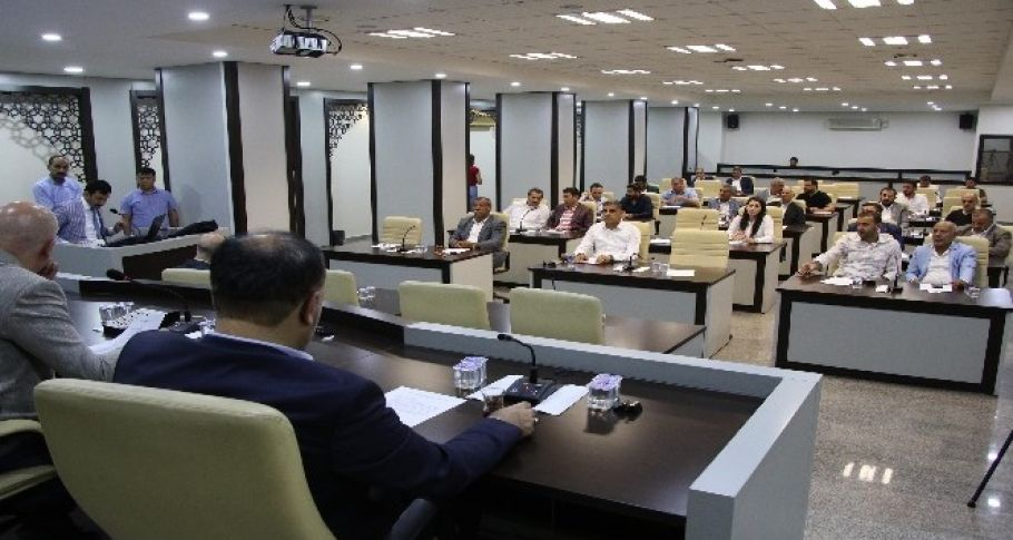 Haliliye Belediye Meclisi haziran ayı 1. birleşimi gerçekleşti