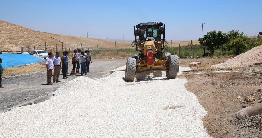 Haliliye Belediyesi , Kırsalda Yol Atağını Sürdürüyor