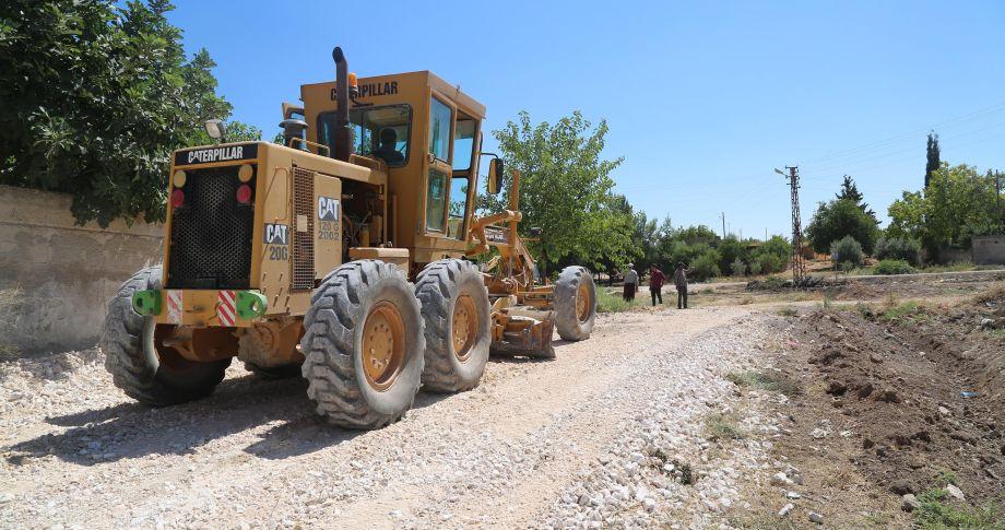 Haliliye Belediyesi, Kırsalda Yol Yapım Çalışmalarına Devam Ediyor(VİDEOLU)