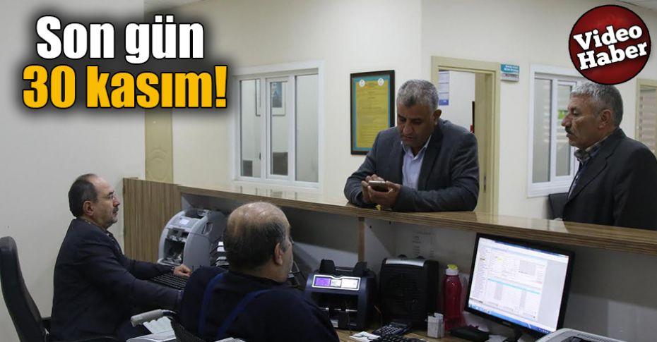 Haliliye Belediyesi, o ödemeler için uyardı!