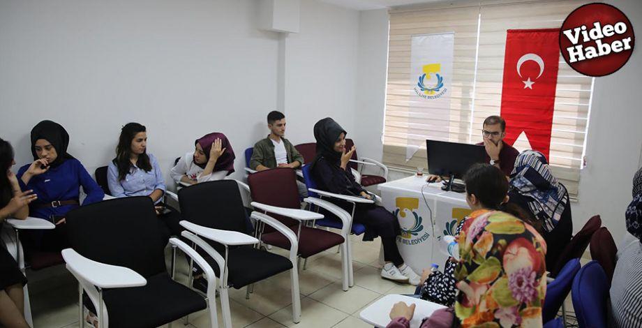 Haliliye Belediyesinden öğrencilere tercih desteği