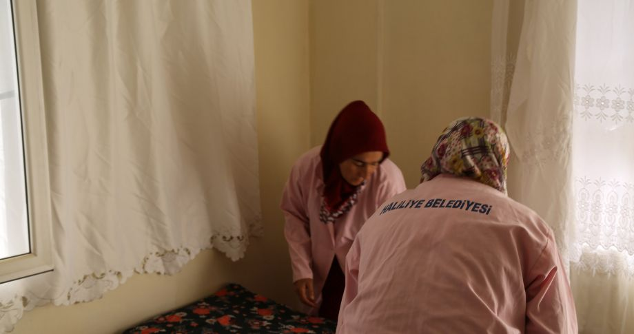 Haliliye'de evde bakım hizmeti