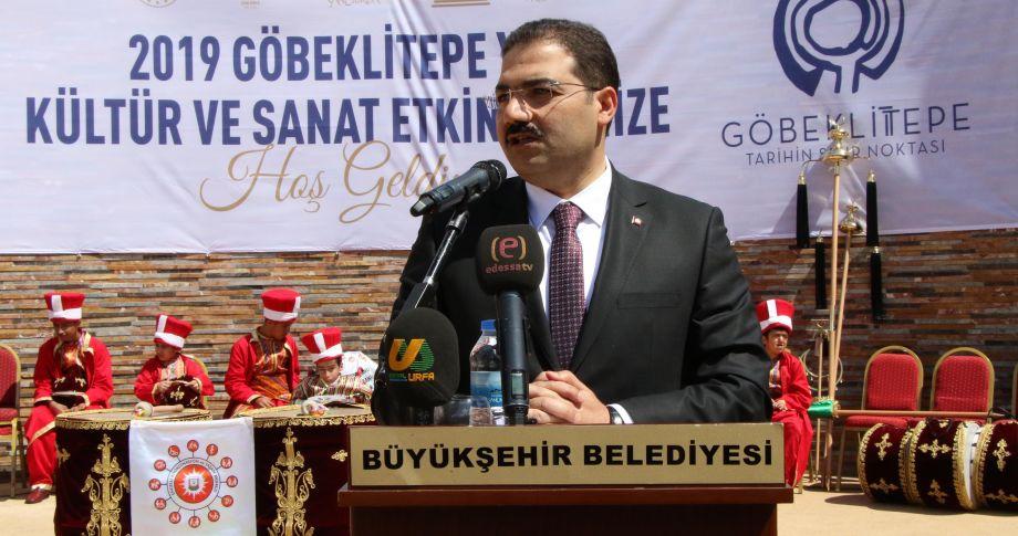 """""""Haliliye, Göbeklitepe ile turizmde çığır açacak"""" (videolu)"""