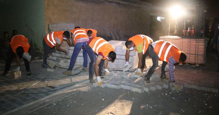 Haliliye, Kırsalda Daha Güzel Sokaklar İçin Çalışıyor (videolu)