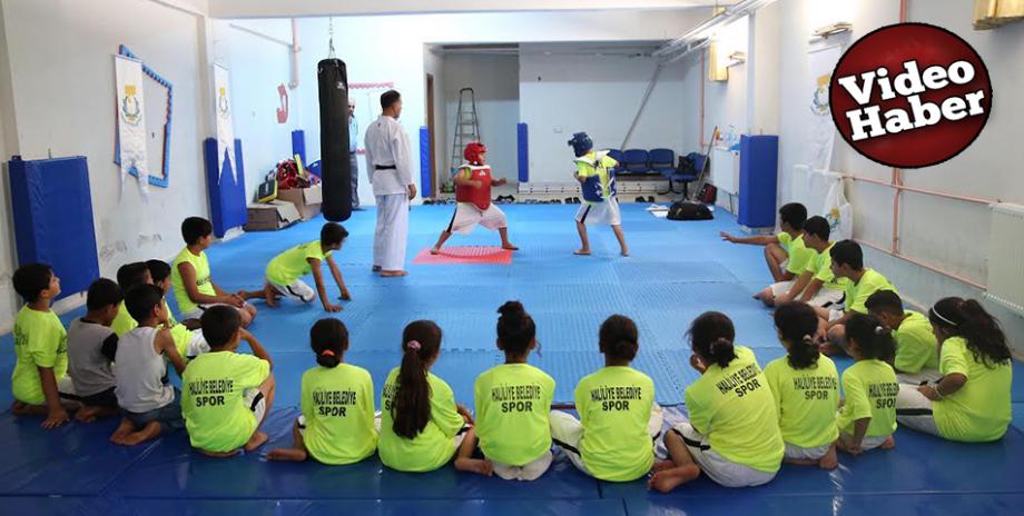 Haliliye Yaz spor okulları devam ediyor