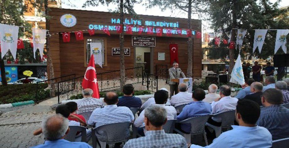 Haliliye'de muhtar evi açılışı gerçekleşti