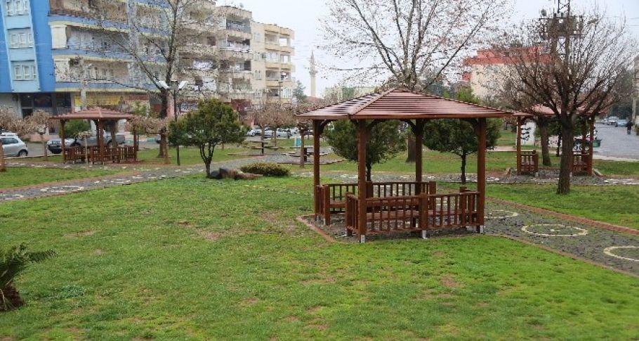 Haliliye'de parklar yaza hazırlanıyor