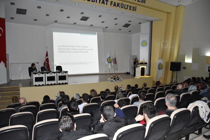 Harran Tıp Fakültesinden Sigara, Alkol ve Madde Bağımlılığı Paneli