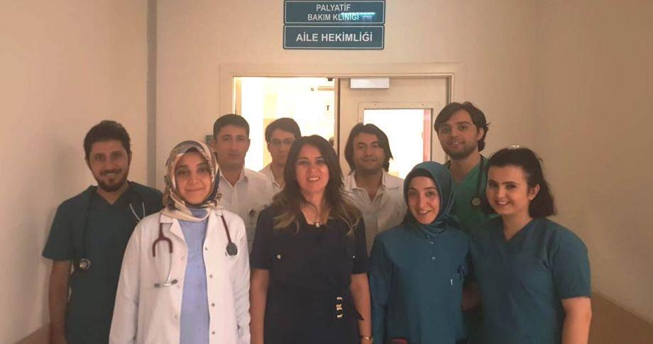 """Harran Tıp'ta """"Palyatif Bakım Merkezi"""" hastalara umut oluyor"""