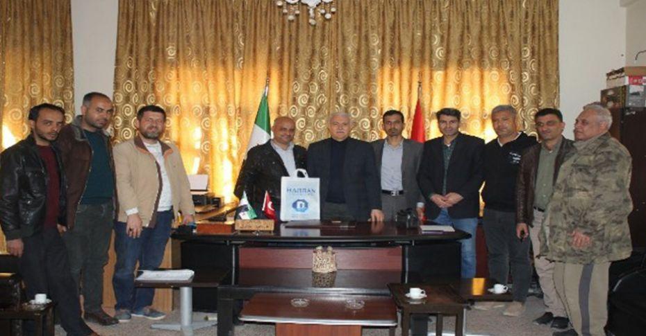 Harran Üniversitesi Cerablus'ta sınav yapacak