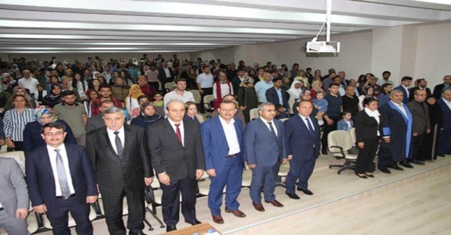 Harran Üniversitesi mezuniyet törenleri başladı