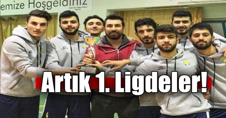 Harran Üniversitesi Voleybol Takımı'ından büyük başarı!