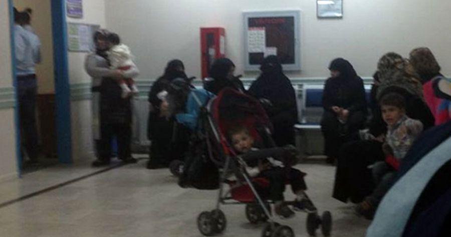 Hastaneye başvuran 10 kadından 8'i Suriyeli
