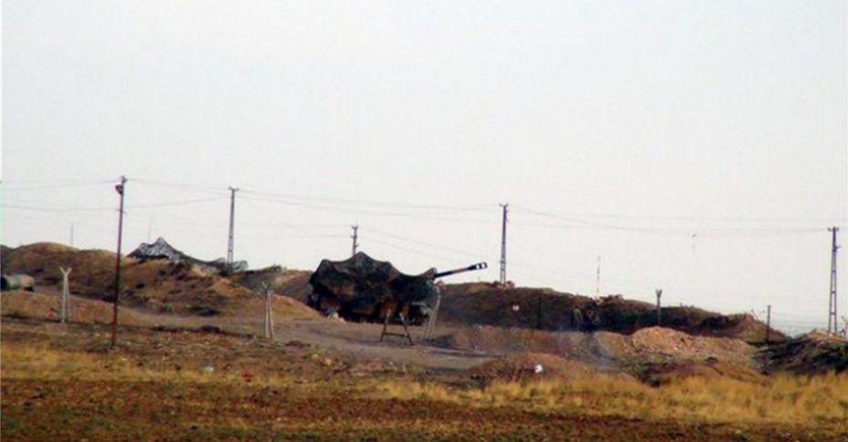 Hatay'dan Afrin'e top atışları sürüyor