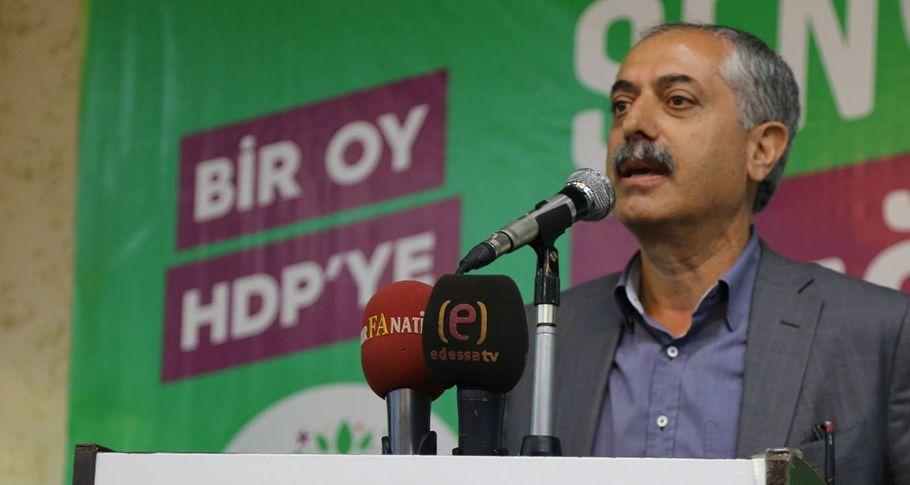 HDP Şanlıurfa teşkilatı iftar yemeğinde bir araya geldi