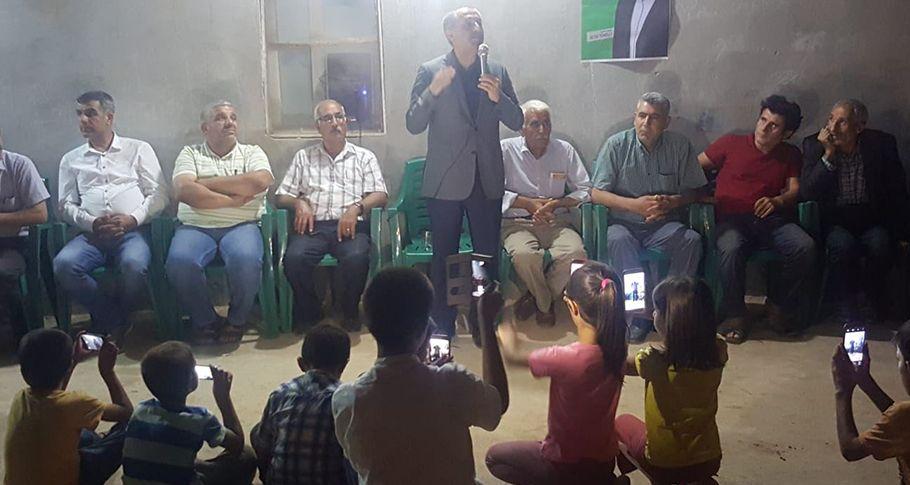 HDP Şanlıurfa Vekil Adayları seçim çalışmalarını sürdürüyor