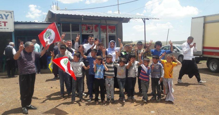 HDP, Şanlıurfa'da seçim çalışmalarını sürdürüyor
