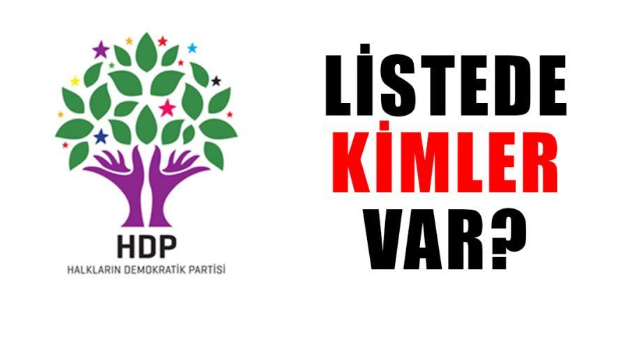 HDP'nin Şanlıurfa Milletvekili Aday Adayı listesi açıklandı!