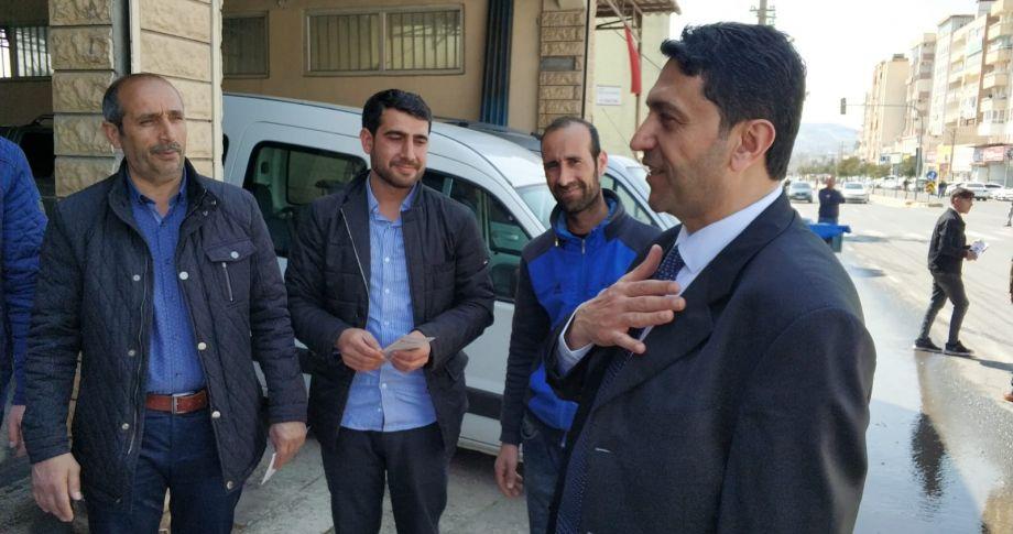 Hekimoğlu, Esnaf ve STK Temsilcilerini Dinledi (videolu)