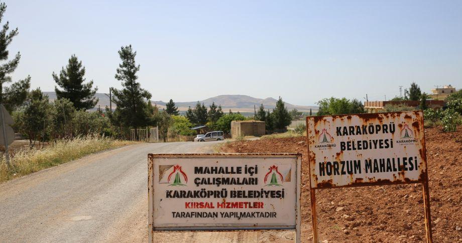 Horzum Mahallesi Tozdan Ve Çamurdan Arındırılıyor (videolu)
