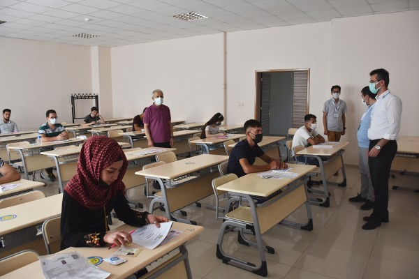 HRÜ'de Uluslararası Öğrenci Sınavı yapıldı