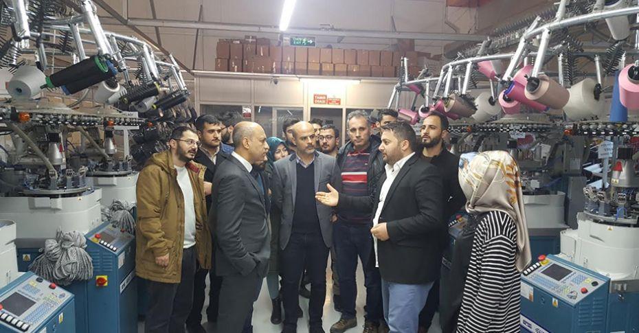 HRÜ Mühendislik Fakültesi Öğrencileri iş yeri eğitimine başladı