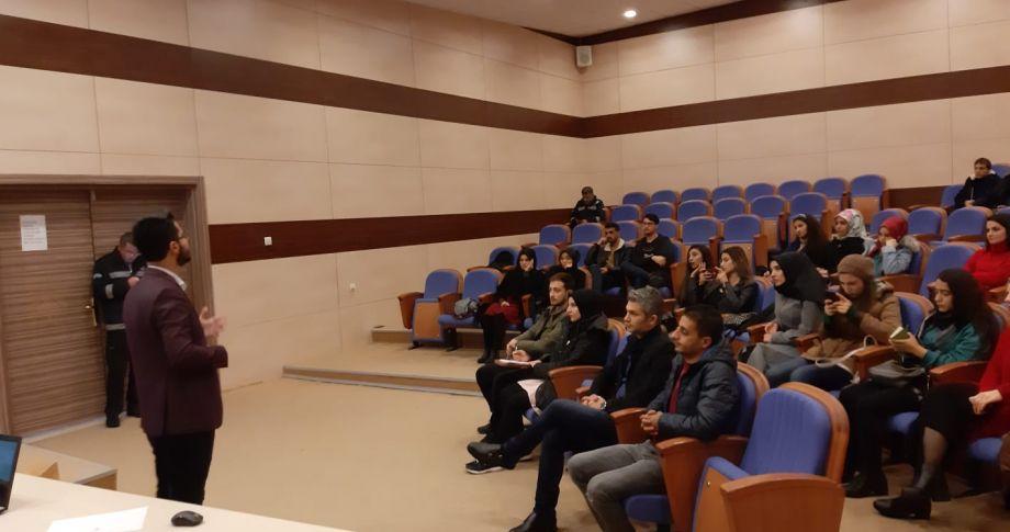 HRÜ'da diksiyon eğitimi