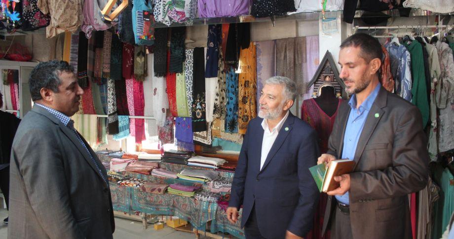 HÜDA PAR'dan Esnafa Ziyaret