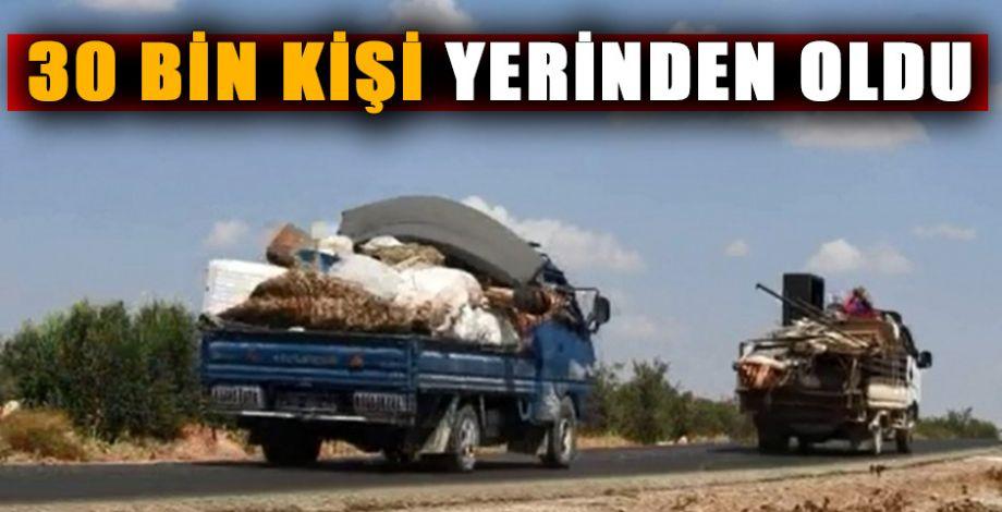 İdlib'ten Türkiye'ye göç başladı!