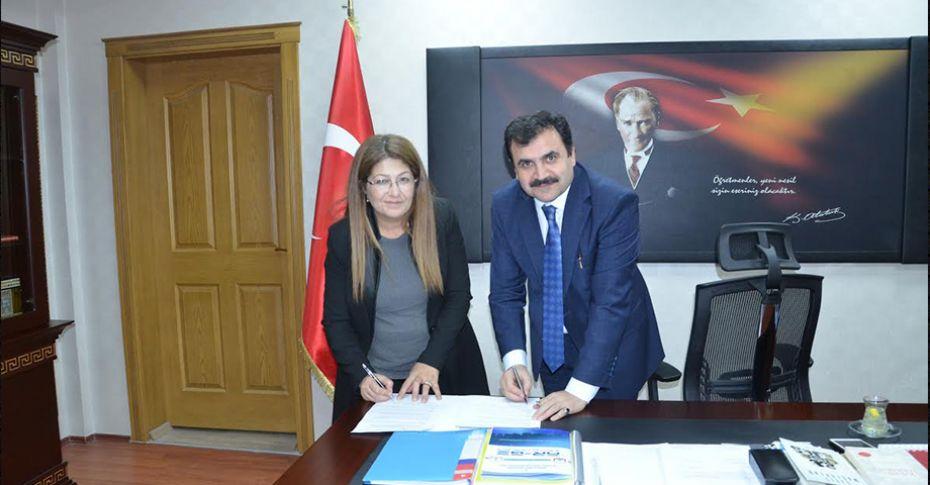 İl Milli Eğitim Müdürlüğü ile KADEM arasında iş birliği protokolü imzalandı