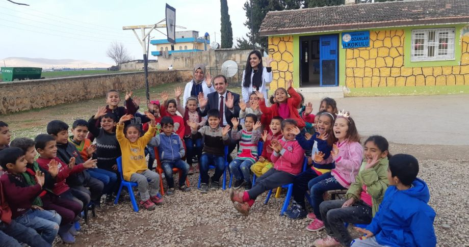 İl Milli Eğitim Müdürü İsmail Yapıcıer Ozanlar İlkokulunu Ziyaret Etti