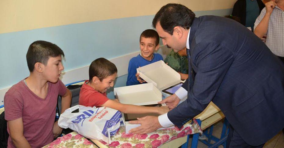 İl Milli Eğitim Müdürü Turan, öğrencilerle bir araya geldi