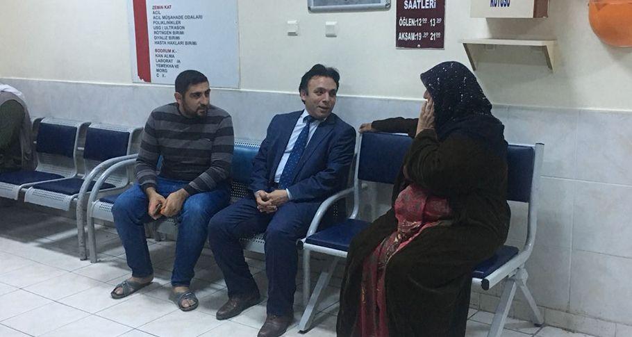 İl Sağlık Müdürü Durgut, Ceylanpınar Devlet Hastanesini ziyaret etti