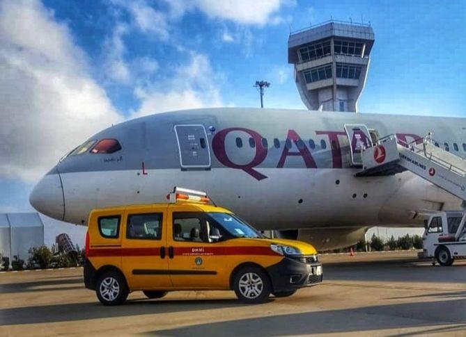 İngiltere-Katar seferini yapan uçak Şanlıurfa'ya acil iniş yaptı, yolcuda corona virüsü çıktı