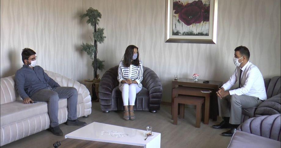 İnşaat Mühendisleri Odası'ndan Edessa TV'ye ziyaret (videolu)
