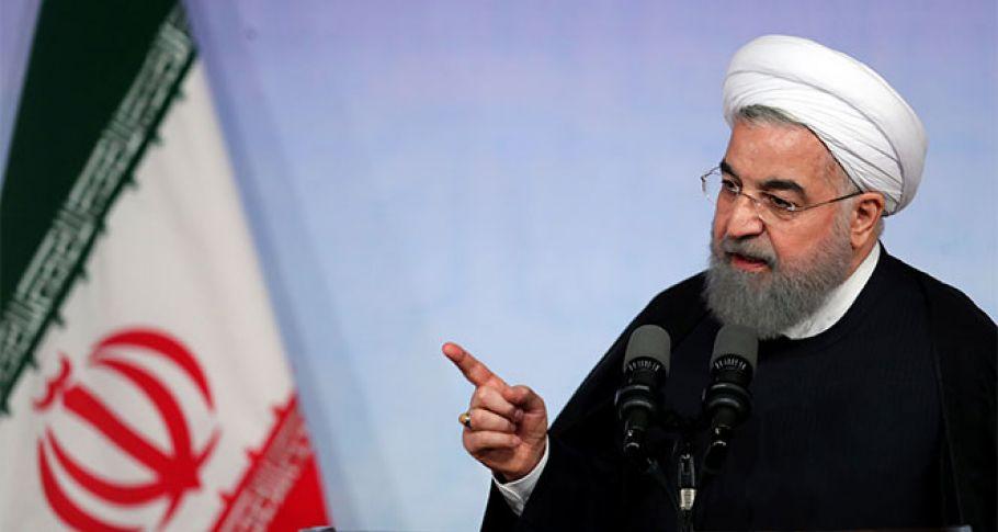İran Cumhurbaşkanı Ruhani: 'Düşmandan korkmuyoruz, sorunları aşacağız'