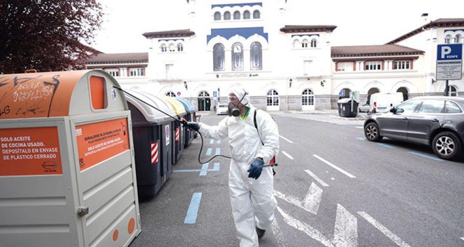 İspanya'da korona virüs bilançosu: 2 bin 696 ölü(video)