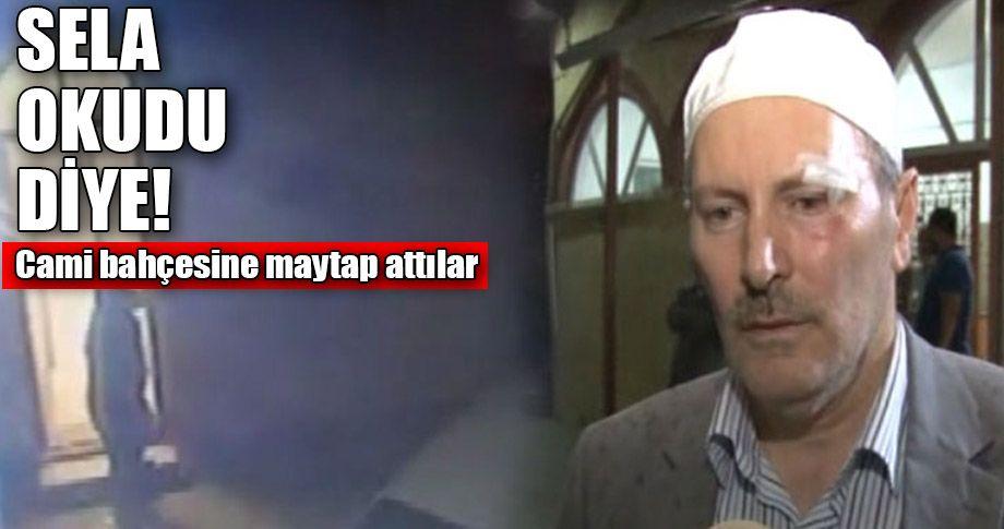 İstanbul'da imama çirkin saldırı!