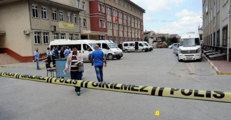 İstanbul'da servisçiler kavga etti