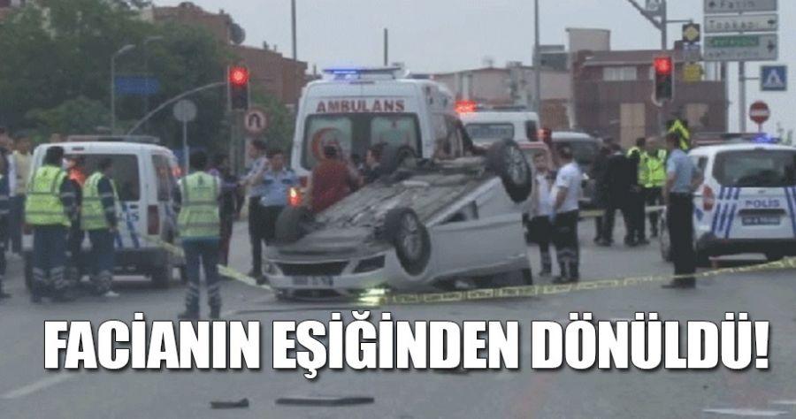 İstanbul'da trafik kazası!