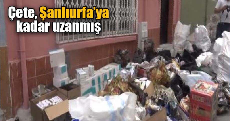 İstanbul'da yanan evden 3 milyonluk sahte ilaç çıktı