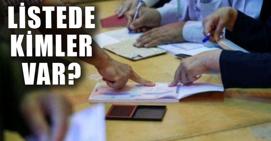 İşte AK Parti Şanlıurfa Milletvekili Aday Adayı listesi