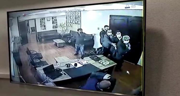 İşte Siverek'teki silahlı saldırı anı