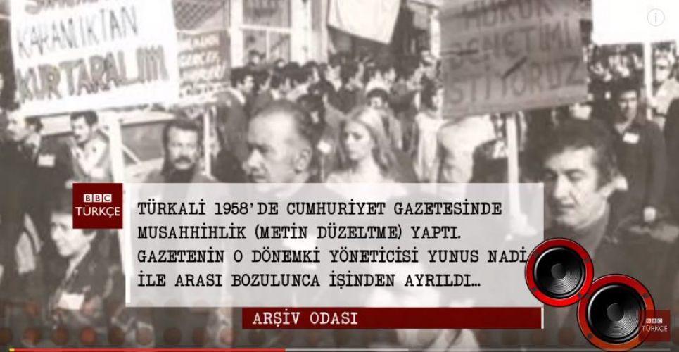 İşte Vedat Türkali'nin 1987'de BBC Türkçe'ye yaptığı o açıklamalar