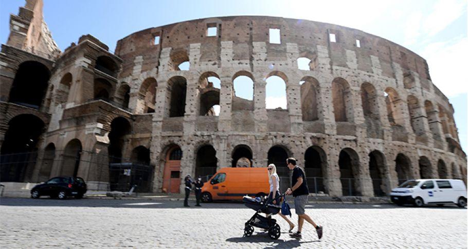 İtalya'da son 24 saatte korona virüsten 162 ölüm