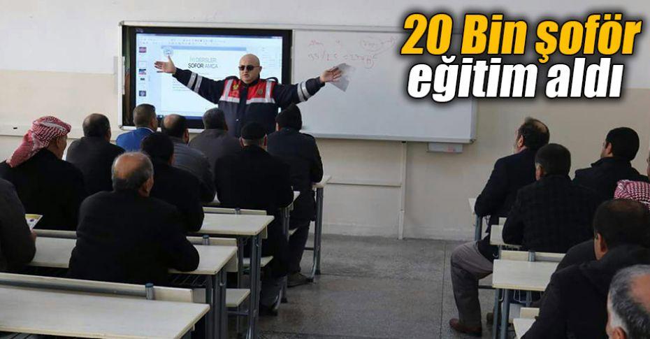 """""""İyi Dersler Şoför Amca"""" eğitimleri Eyyübiye HEM'de verildi"""