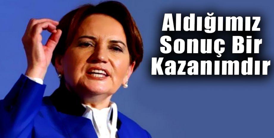 İYİ Parti Genel Başkanı Akşener, sessizliğini bozdu