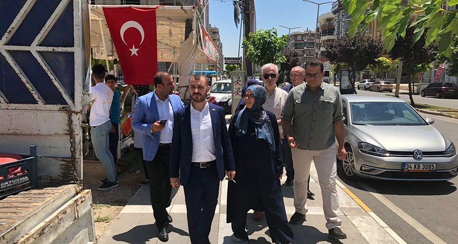 İYİ Parti Şanlıurfa Milletvekili Adayları seçim çalışmalarını sürdürüyor